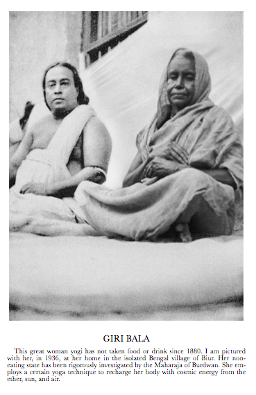 Giri Bala and Yogananda 1936