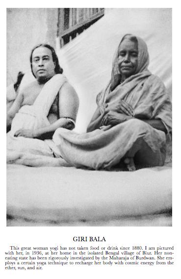 Giri Bala and Yogananda 1936