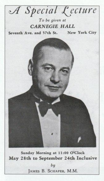 Schafer Carnegie Hall